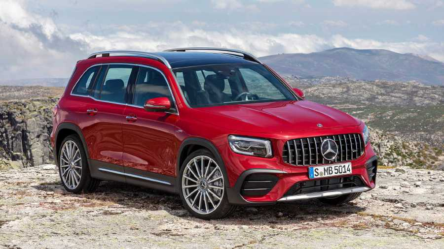 Mercedes Amg Glb 35 Is A Compact 7 Seater Suv With 306hp New