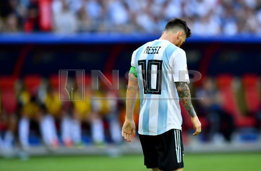 8f3366401 Argentina s Lionel Messi has yet to play for the national team following  the 2018 Fifa World Cup in Russia. - Reuters