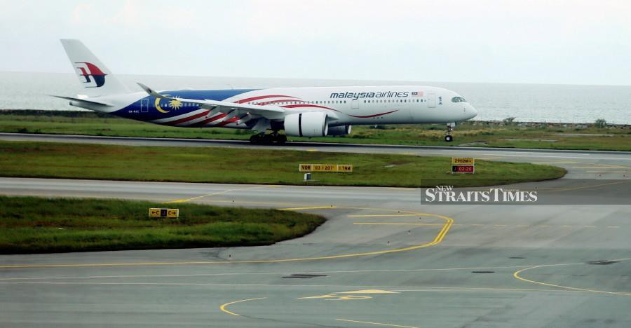 The government is also looking at other ways, including forging strategic cooperation with other airlines, as part of efforts to save Malaysia Airlines. - NSTP/File pic