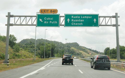 East Coast Expressway (LPT2) is officially open to road users today. Pix by Aswadi Alias