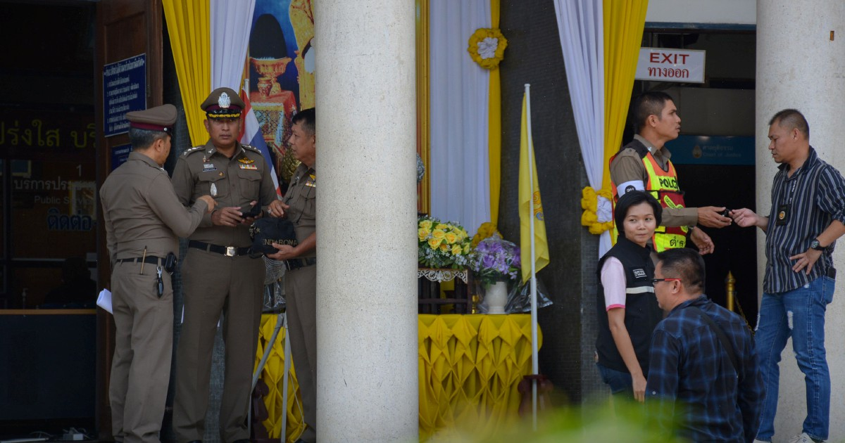 Two lawyers, gunman killed in Thai courtroom shootout: Police
