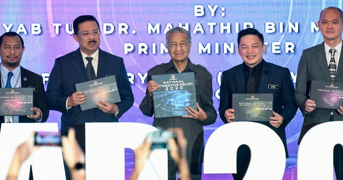 New M'sian Vehicle Project to be implemented under National Automotive Policy 2020