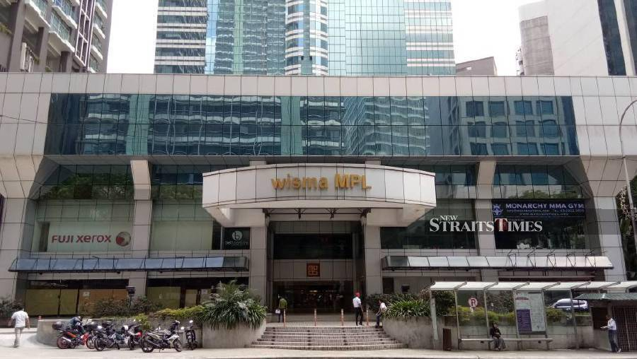 Malaysia Pacific sells Wisma MPL for RM189mil | New Straits Times
