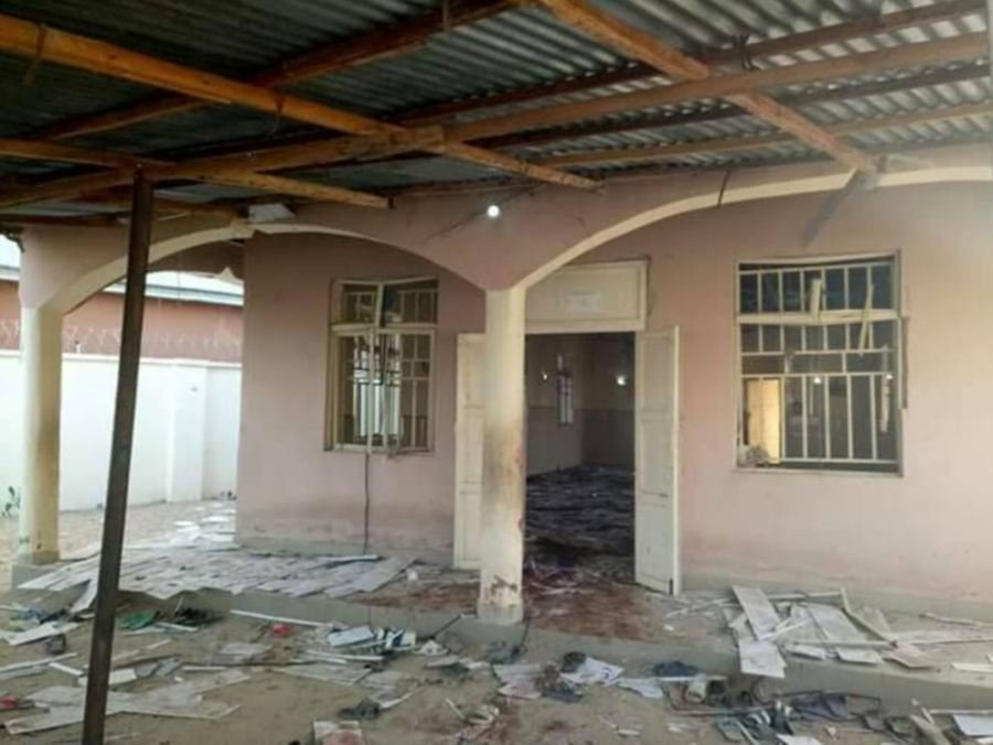 Nigeria police say at least 20 killed in mosque bombing