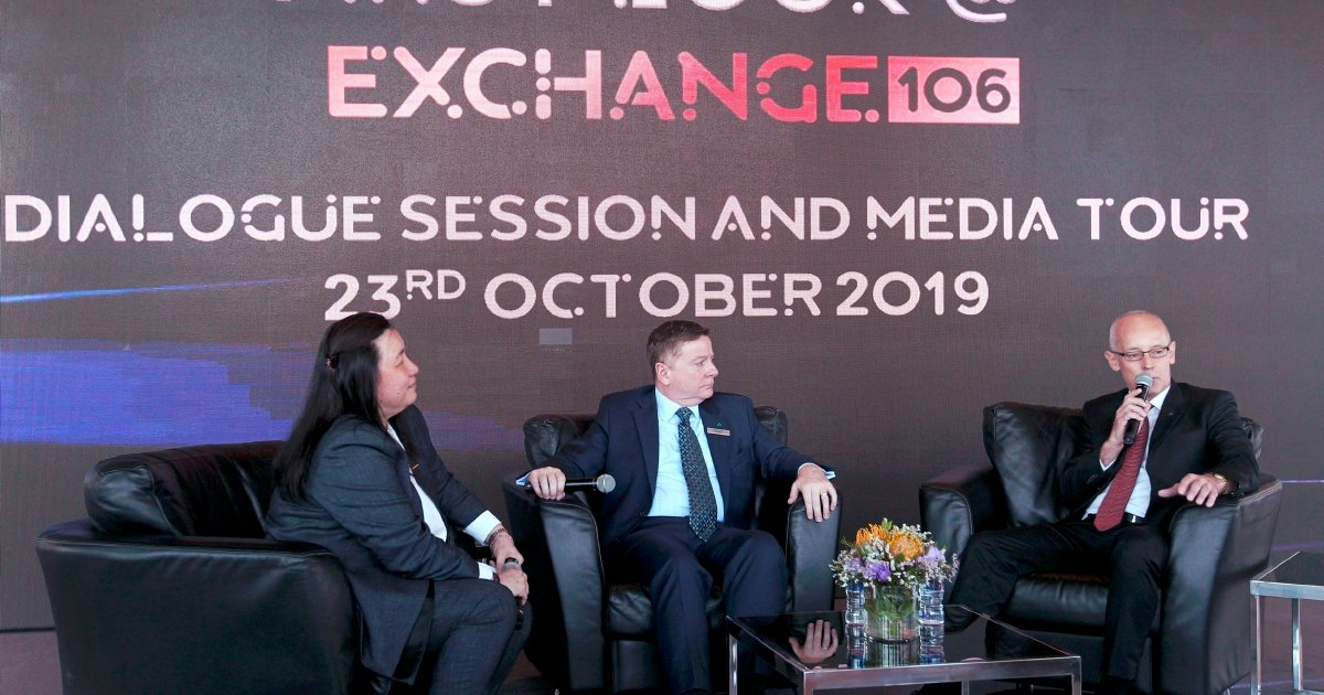 Exchange 106 To Be 50pct Occupied By End 2020