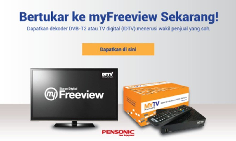 MYTV Broadcasting Sdn Bhd (MYTV) will conduct a restacking frequency exercise for digital TV broadcast. -Pic from MYTV