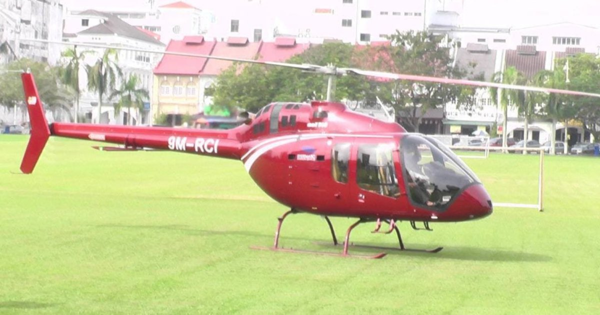 Nasi Ganja owner thought food order by helicopter was a joke