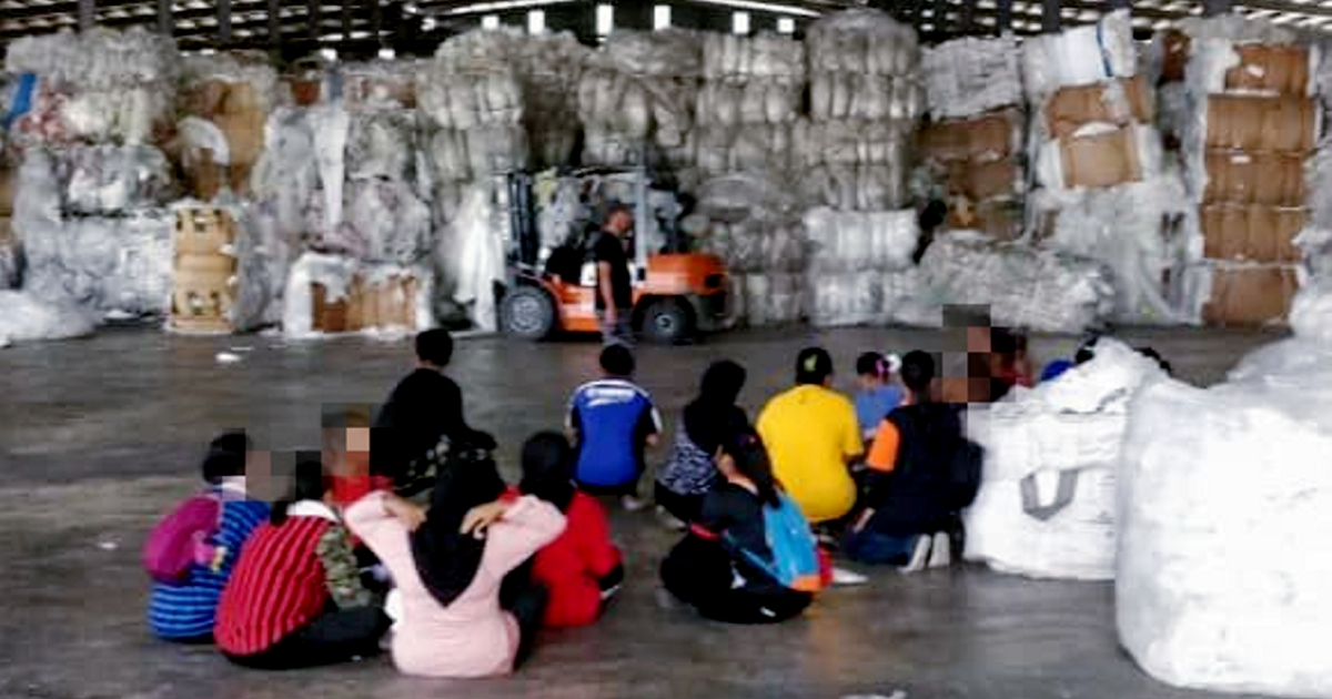 Fleeing illegal foreign workers nabbed by Immigration
