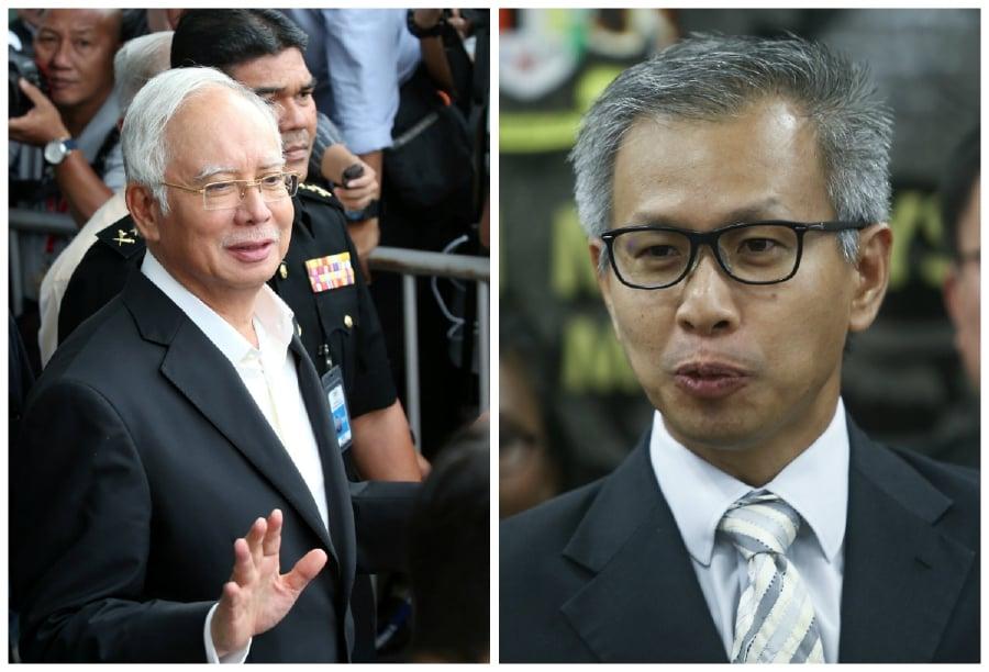 Former prime minister Datuk Seri Najib Razak has withdrawn his suit against Damansara MP Tony Pua Kiam Wee over the 1Malaysia Development Bhd (1MDB) scandal. — NSTP pic
