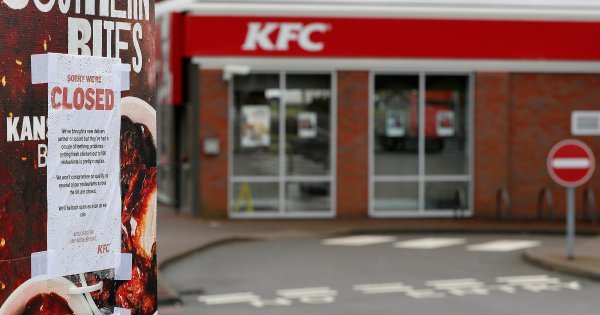What the cluck: Chicken shortage leaves KFC crying fowl