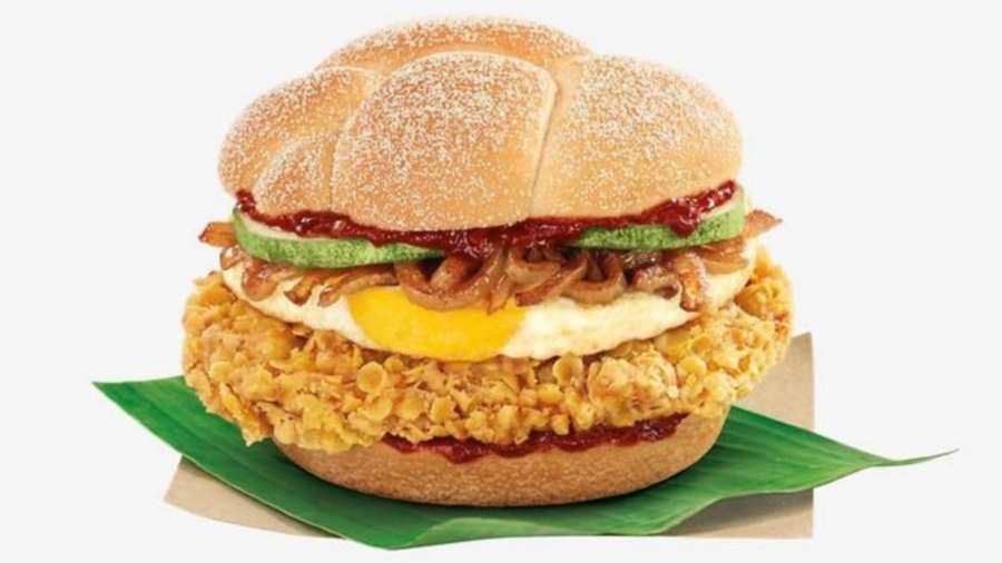 (File pix) McDonald's in Singapore released their 'Nasi Lemak Burger' on July 13 to celebrate its National Day on August 9.