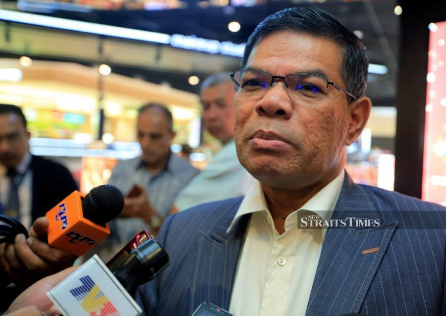 """(File pic) """"The challenge for policymakers is that different solutions are needed to cater to different groups with different needs,"""" said Domestic Trade and Consumer Affairs Datuk Seri Saifuddin Nasution Ismail. (NSTP/MOHD YUSNI ARIFFIN)"""