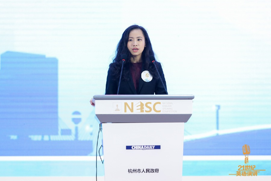 Nicol Yong Jia Jia won the Belt and Road Youth English Speaking Competition and the China Daily '21st Century Cup' International English Speaking Competition. - Pix source: chinadaily.com.cn