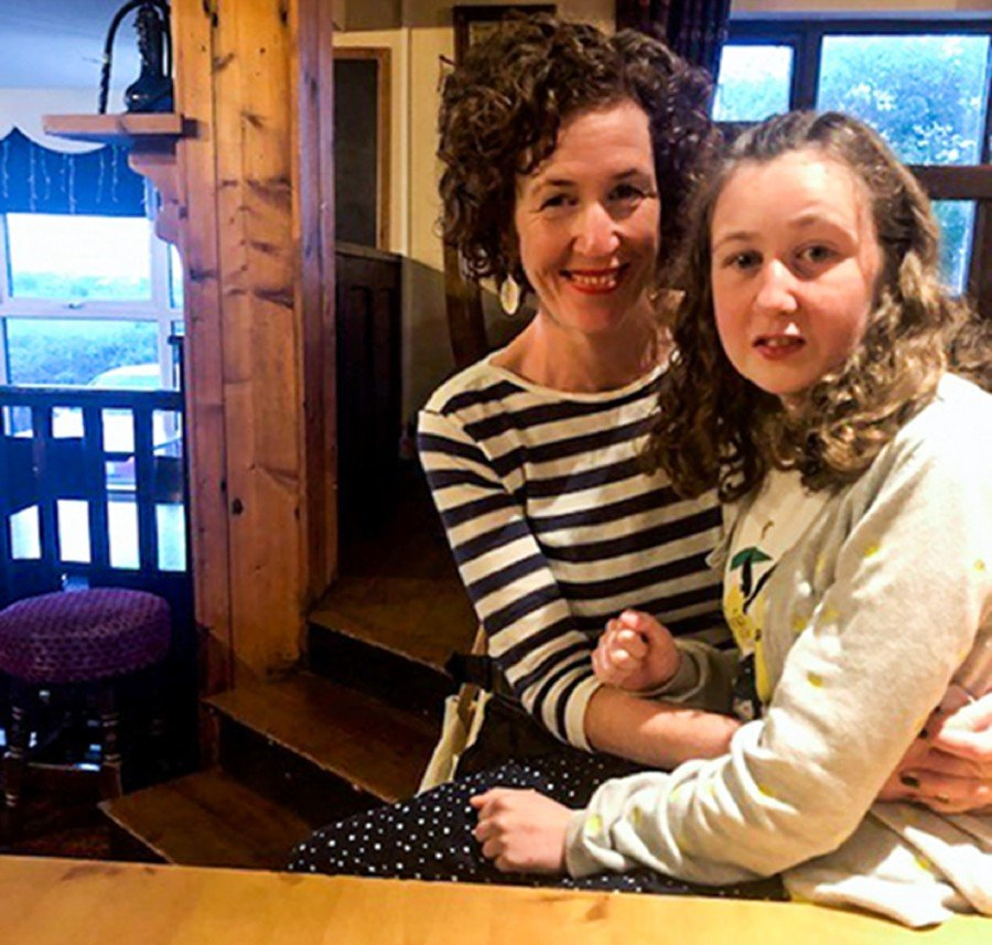 (FILES) This file handout of a recent picture released by the Quoirin family on August 5, 2019 shows Nora Quiorin, a 15-year-old Franco-Irish teenager who went missing from a Malaysian rainforest resort, posing with her mother Meabh. - The vulnerable It is an irony that we found ourselves in Nora's missing. Tragedy sometimes does this to us. On the morning of Aug 4, Nora was reported missing. On that very day, Malaysians became one human nation again. (Photo by FAMILY HANDOUT / Quoirin Family / AFP)