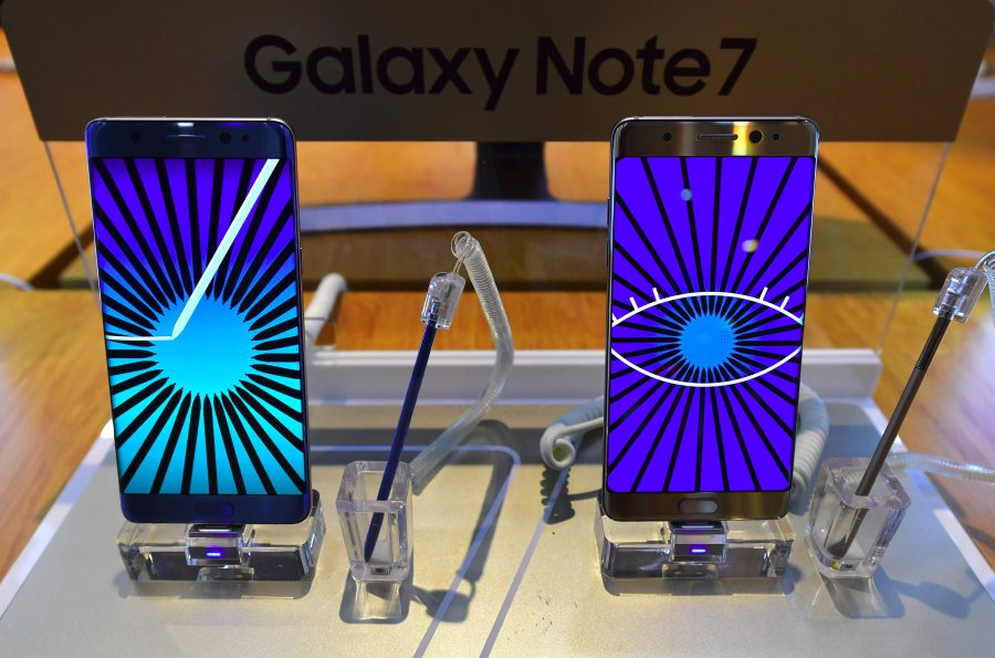 Samsung Elec to recover rare metals from recalled Note 7s | New