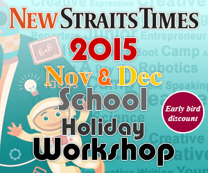 NST NIE School Holiday Workshops 2015