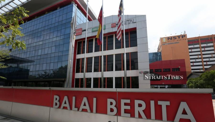 (File pic) The New Straits Times Press (M) Bhd (NSTP) has lodged a police report over a bogus donation drive, which used the name of one of its newspapers, the New Straits Times (NST). - NSTP/ZUNNUR AL SHAFIQ