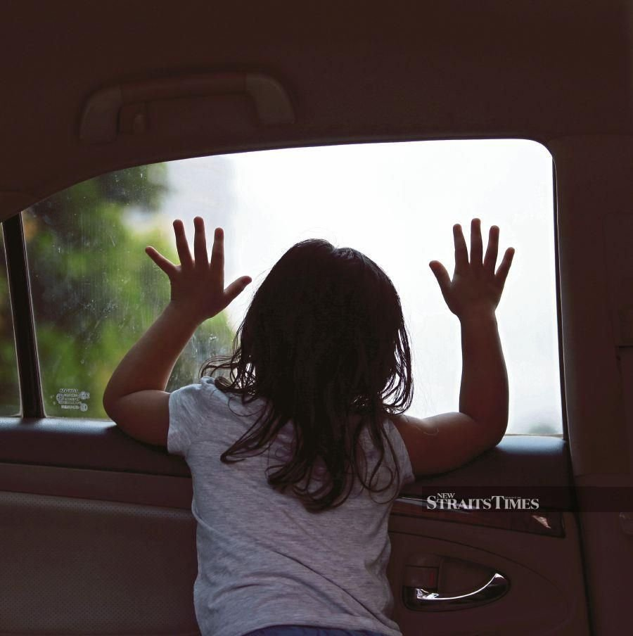 A research paper laid out the three categories of parents who are involved in child deaths from hot cars. They are parents who truly forget their children in the car, parents who take calculated risks because they are uneducated about the danger of leaving children in cars and parents who commit criminally negligent and intentional filicide.  - NSTP/ ASWADI ALIAS