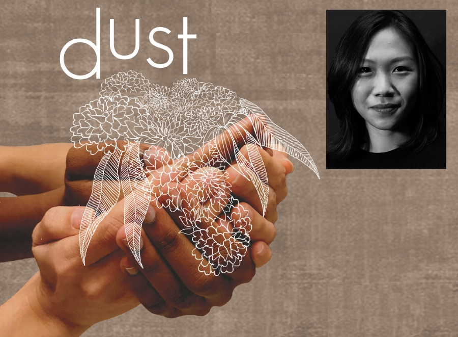 Urban collective Theatresauce will present its first full-length devised production, Dust, directed by Esther Liew (inset).