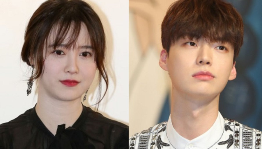 Ku Hye Sun (left) and Ahn Jae Hyun (Picture from Koreaboo)