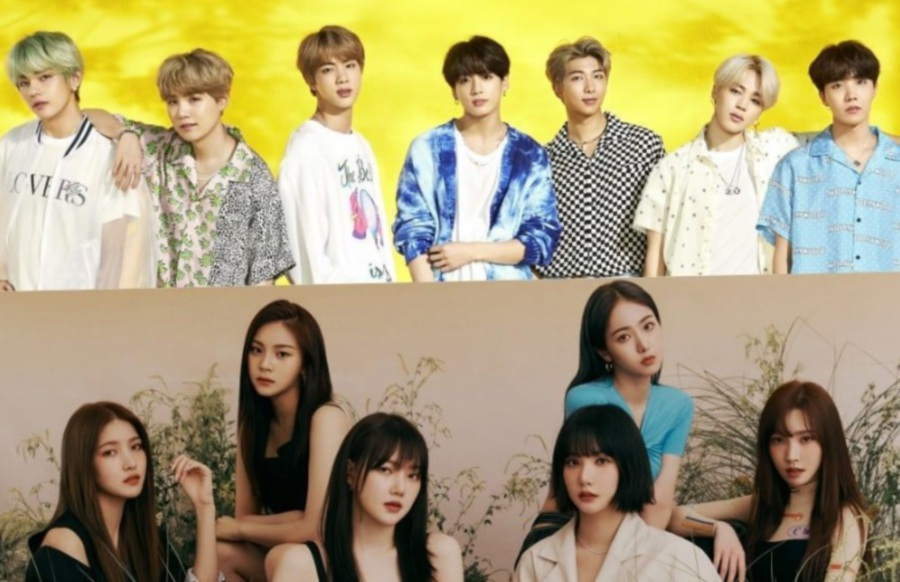 BTS and GFriend (Picture from Soompi)