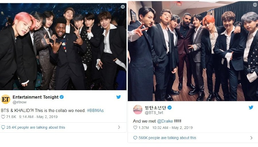 Showbiz: BTS shares Billboard Music Awards experience