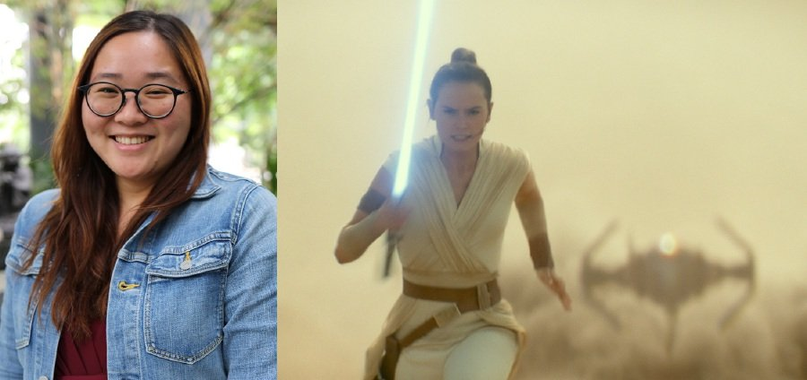 Malaysian Eng Sze Jia (left) is doing the country proud by working on high profile Hollywood productions including the latest Star Wars movie. (Picture courtesy of The Walt Disney Company)