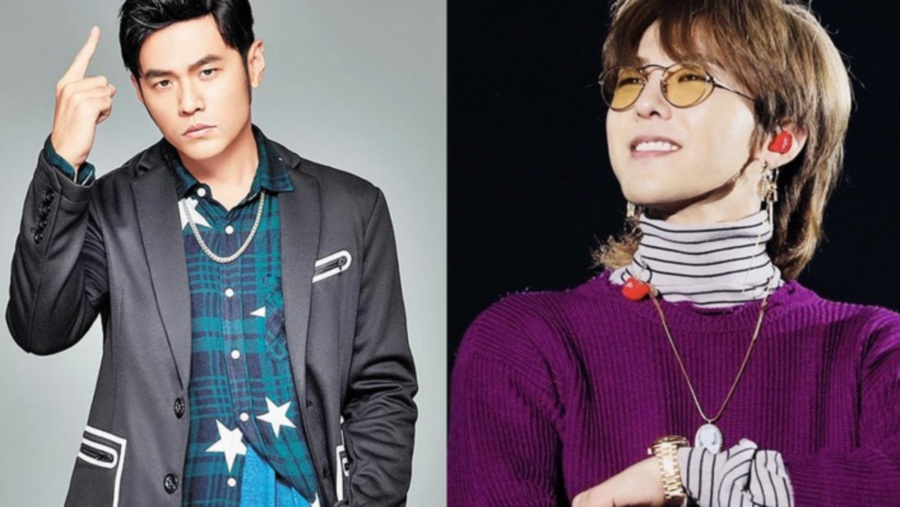 Jay Chou (left) and G-Dragon (Picture from Koreaboo)