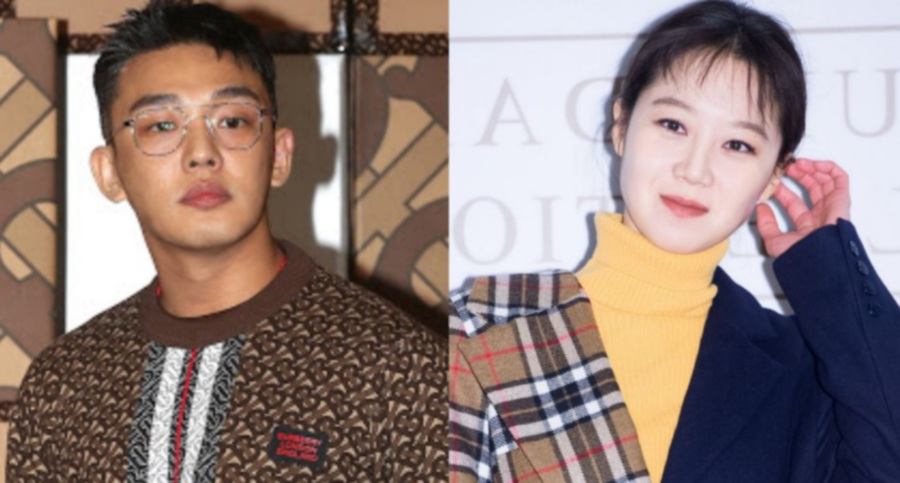 Yoo Ah In (left) and Gong Hyo Jin (Picture from Koreaboo)