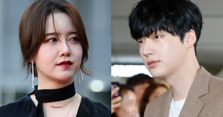 Ku Hye Sun (left) and Ahn Jae Hyun (Picture from Koreaboo)