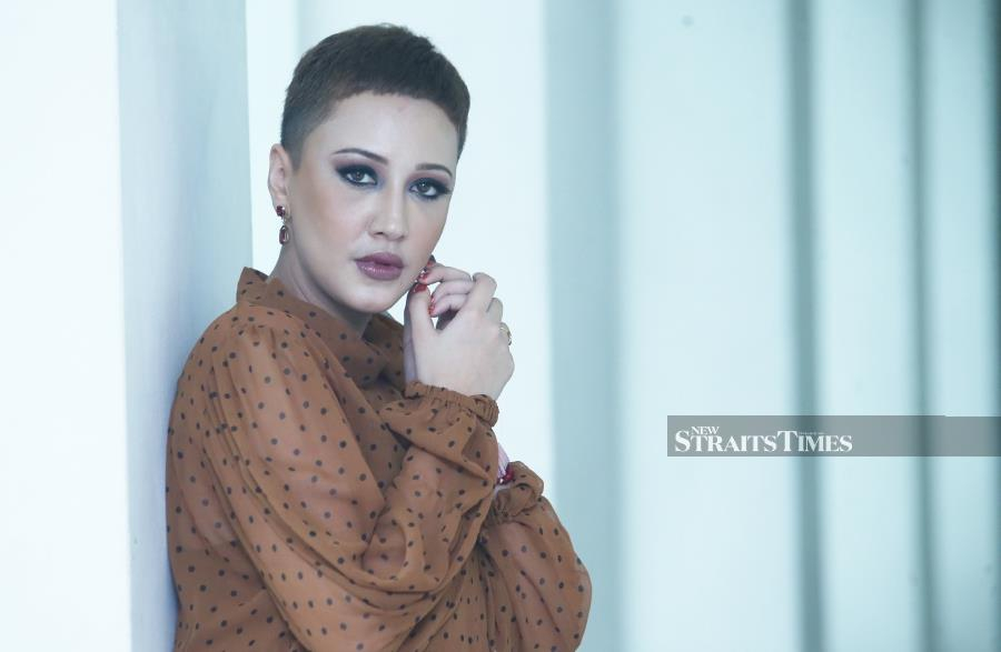 Actress Nur Fathia Latiff is determined to shed her 'bad girl' image as of this year. (Pic by NSTP/NURUL SHAFINA JEMENON)