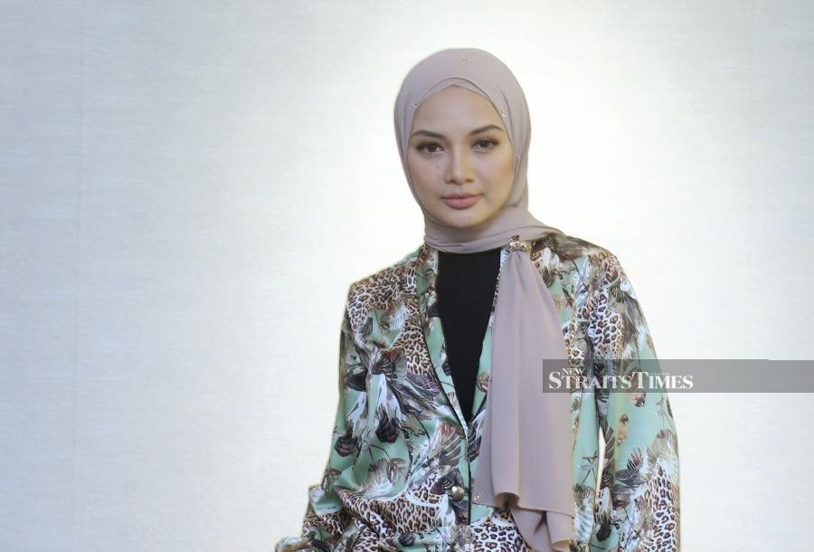 Popular TV host, actress and entrepreneur Neelofa. (NSTP file pic)
