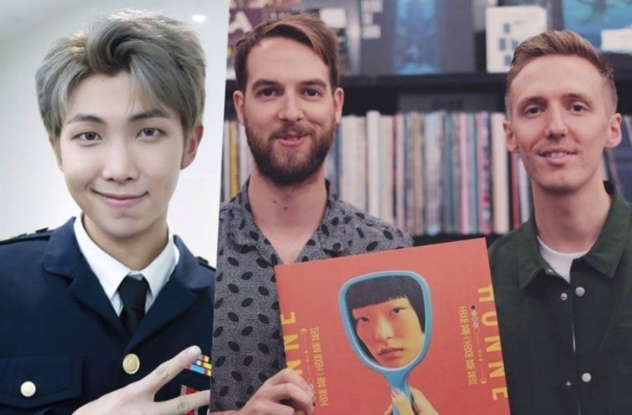 Showbiz: BTS' RM has new song with Brit duo Honne, out