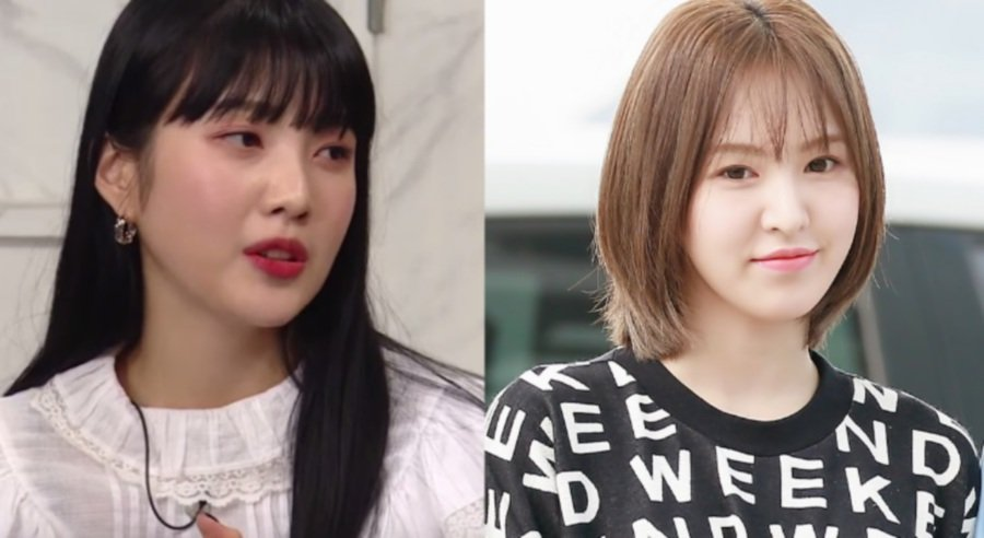 Joy (left) and Wendy of popular K-Pop group Red Velvet (Picture from Koreaboo)