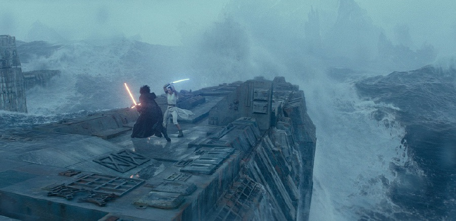 One of the epic visual effects scenes from Star Wars: The Rise Of Skywalker. (Picture courtesy of The Walt Disney Company)