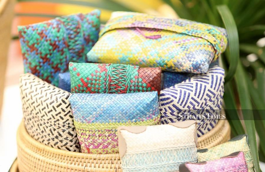 Woven pouches are handy to have. NSTP/MOHAMAD SHAHRIL BADRI SAALI