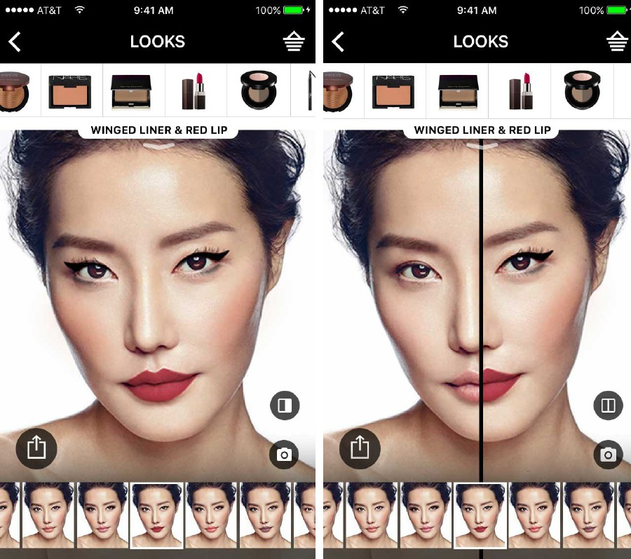 Virtual App by Sephora allows you to see how a product will turn out.