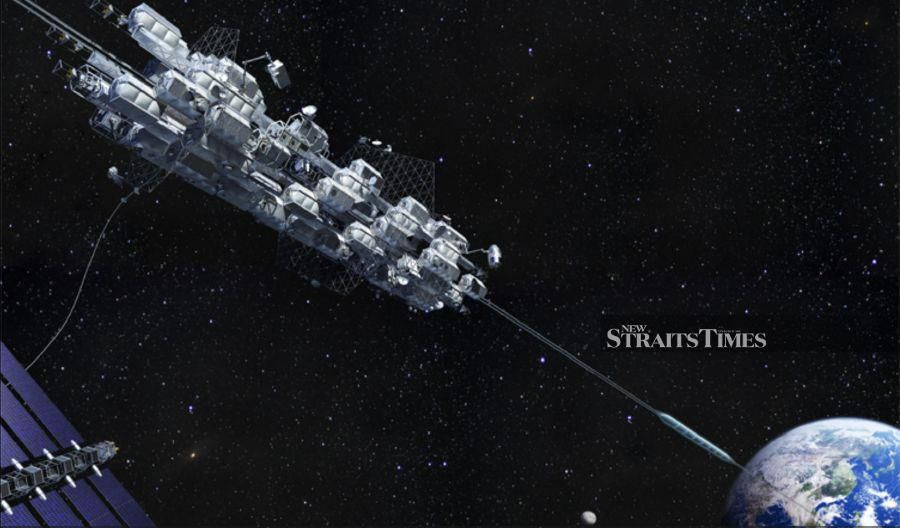 Obayashi Corporation announced its Space Elevator Construction Plan to connect Earth and space by 2050.