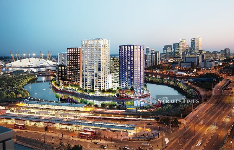 London City Island project by Eco World International Bhd. - NSTP/Courtesy of Eco World