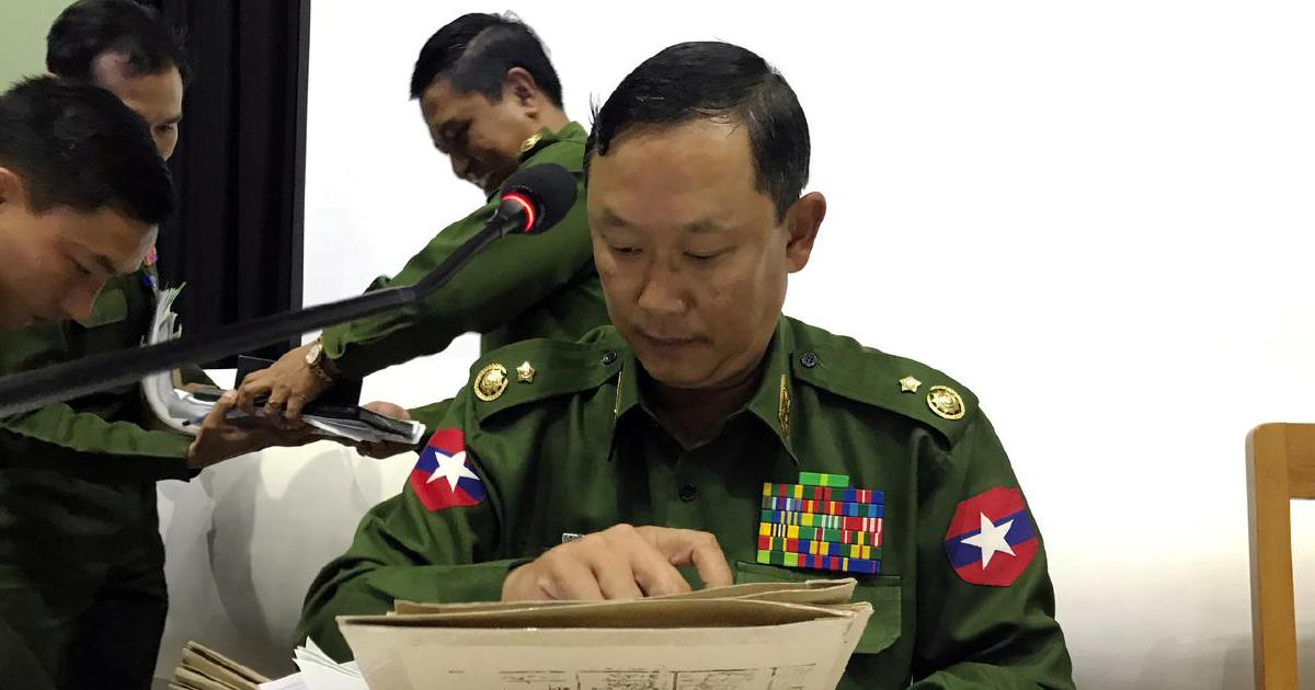 Proposal tabled for soldiers to vote outside of camps in Myanmar