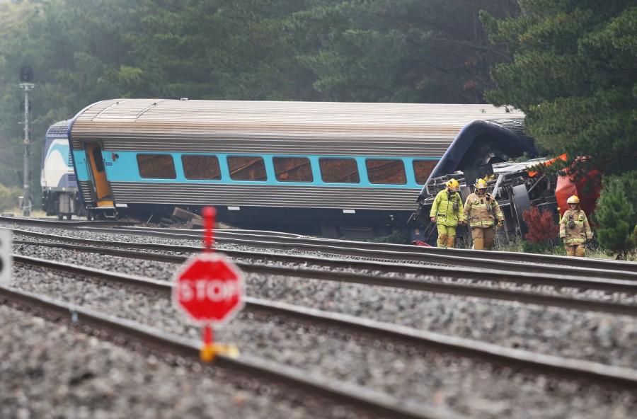 Reports Of Multiple Fatalities And Injuries After Sydney-Melbourne Train Derails