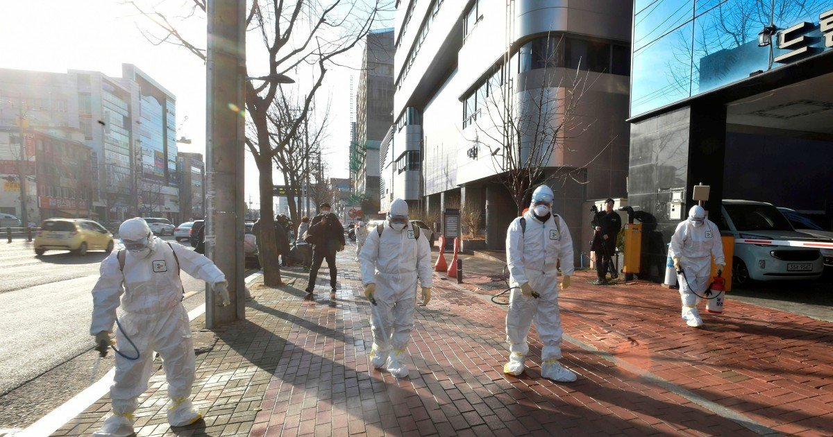 'Like a zombie apocalypse': Daegu residents in fear as more coronavirus cases recorded
