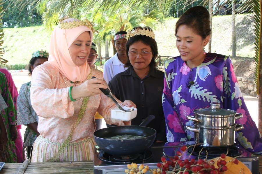 Recipes also came from the Orang Asli communities.