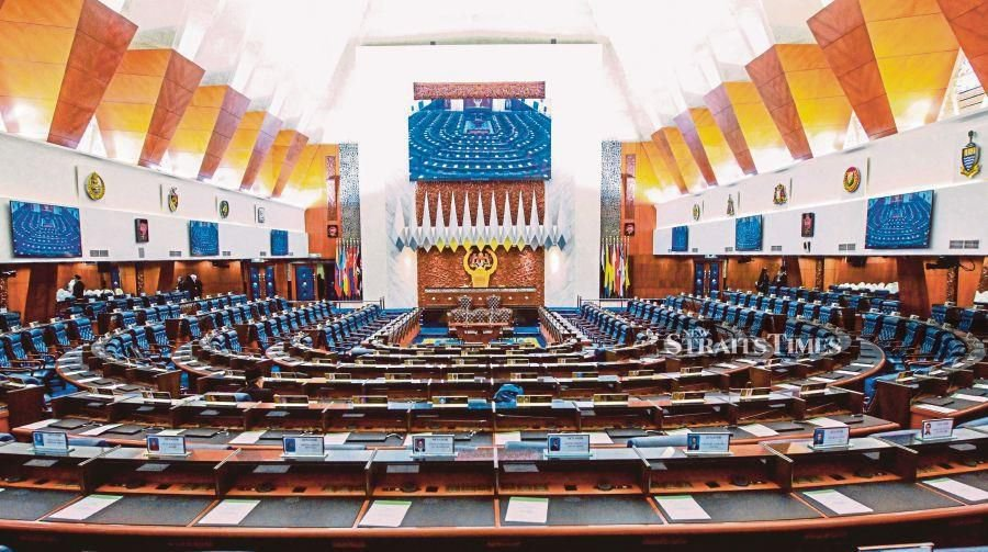 In Malaysia, a motion of no confidence in the Prime Minister has a constitutional footing simply because it is envisaged under Article 43(4) of the Federal Constitution and by virtue of Article 62(1) of the Federal Constitution, the Dewan Rakyat Standing Orders are subject to Article 43(4). - NST/file pic.