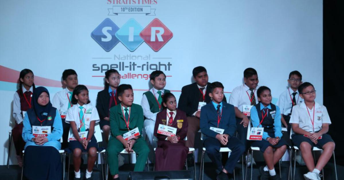 RHB-NST National Spell-It-Right Challenge: Defending champion secures grand final berth