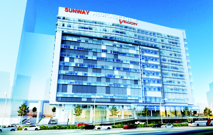 The Sunway Medical Centre Velocity opened on Sept 4. -Pic source: Sunway Group