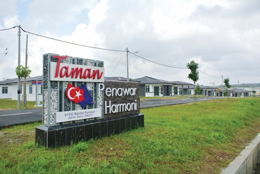 At another emerging residential development called Taman Penawar Harmoni, affordable homes are being built.