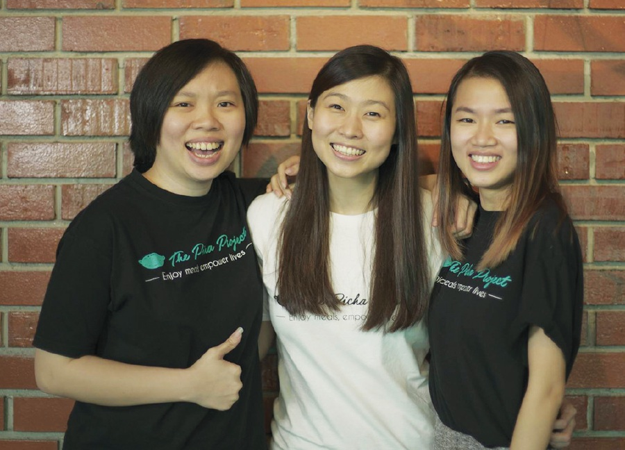 The Picha Project founders (From left) Kim Lim, Suzanne Ling and Lee Swee Lin