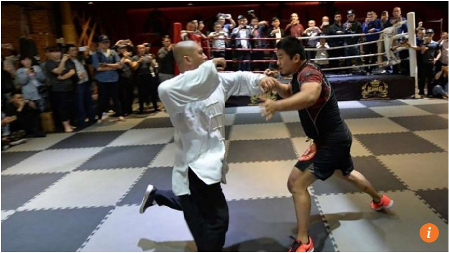 MMA fighter challenges taiji masters to million yuan challenge