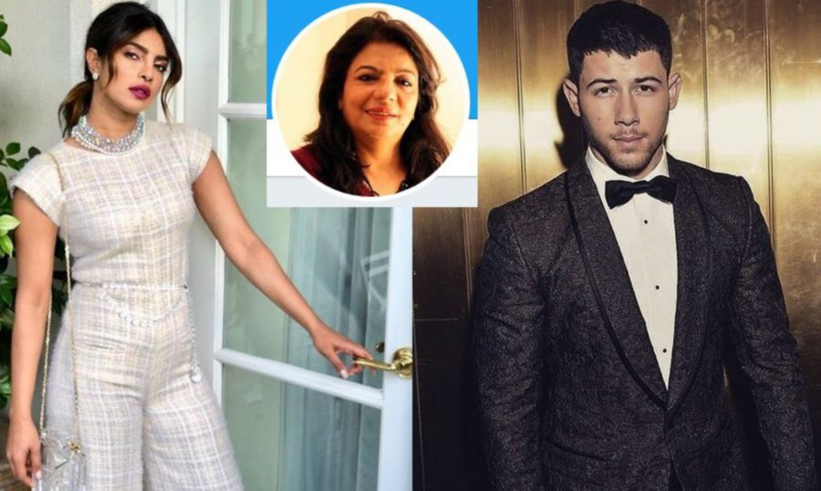 showbiz priyanka chopra gets cosy with nick jonas actress mum